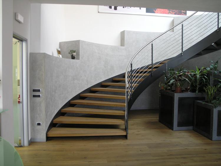 Scale interne ed esterne costruzioni metalliche muttin vicenza veneto - Immagini di scale interne ...